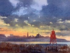 Groyne Sunset