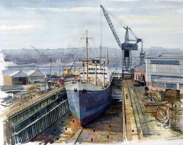 Brighams Dry Dock 1974